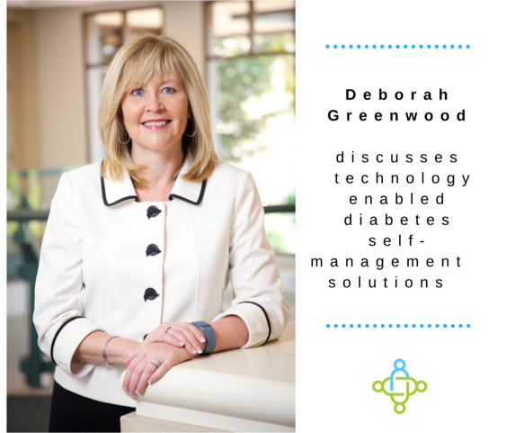 Deborah Greenwood discusses technology enabled diabetes self-management solutions