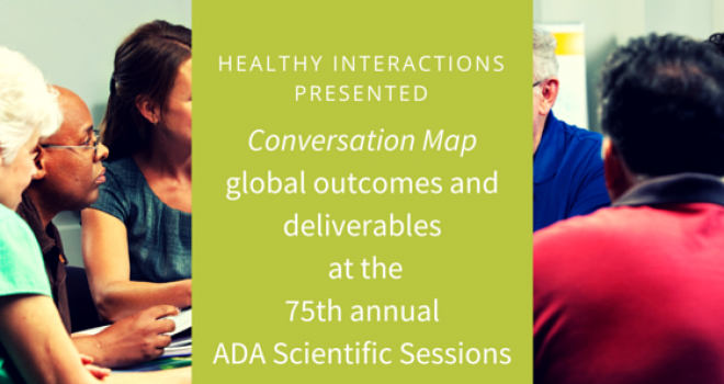 Healthy Interactions Presented Global Diabetes Program Data at the ADA Scientific Sessions
