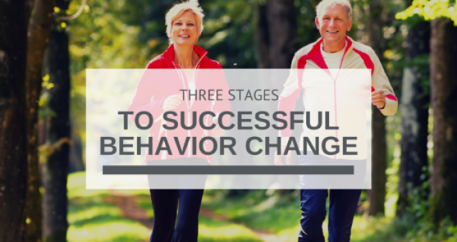 Three Stages to Successful Behavior Change