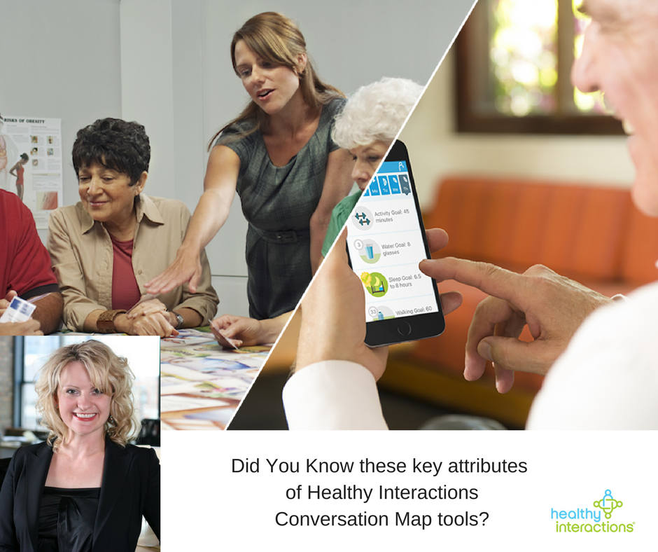 Did You Know… Top 10 points of interest of Healthy Interactions Conversation Map tools