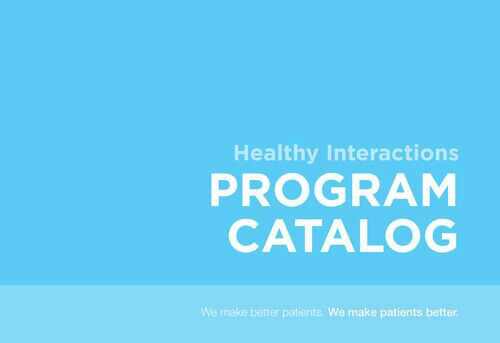 Program Catalogs